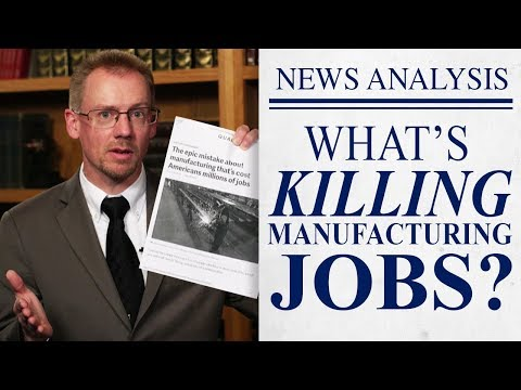What's Really Killing US Manufacturing Jobs?