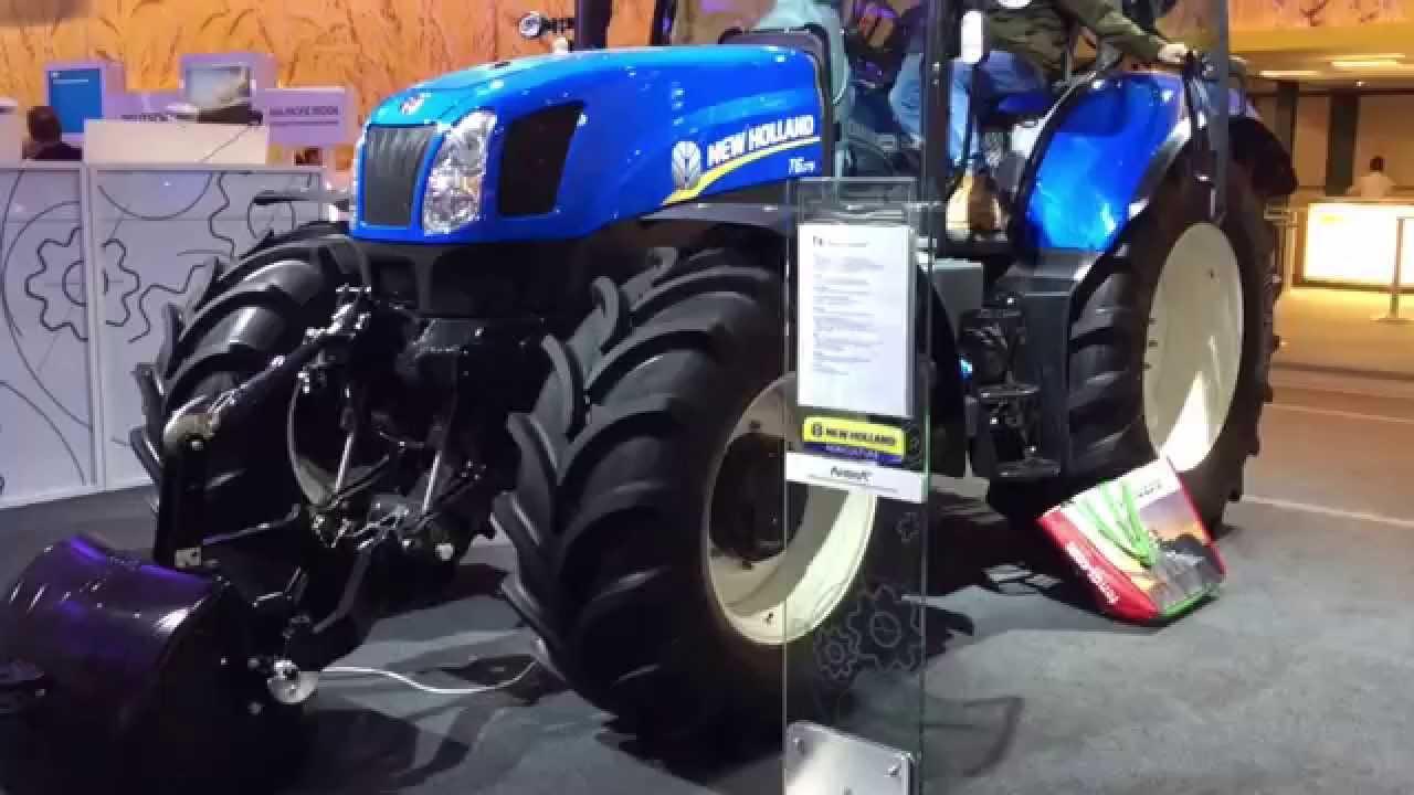 Traktor New Holland T6 175 Electro Command, Agritechnica 2015