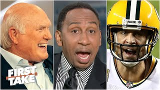 Terry Bradshaw called Aaron Rodgers 'weak.' Stephen A. and Max react | First Take