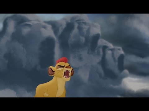 Kion's 'Dark' Roar of the Elders - Never Roar Again | Lion Guard HD Clip