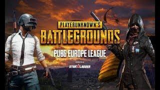 Играем PUBG Europe League  Playerunknowns Battlegrounds