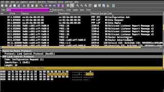 WAN Protocol :: PPP Point to Point Protocol tutorial rfc 1661, wireshak PPP analysis