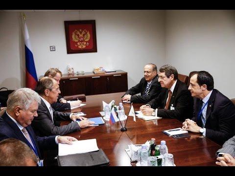 Sergey Lavrov and Nicos Anastasiades | С.Лавров и Н.Анастасиадис