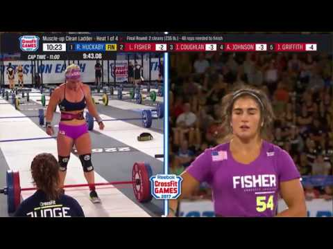 Crossfit Games 2017 Day 3 Women Muscle Up Clean Ladder
