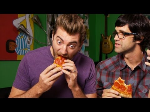 Eating a Pizza in Less Than 60 Seconds Travel Video