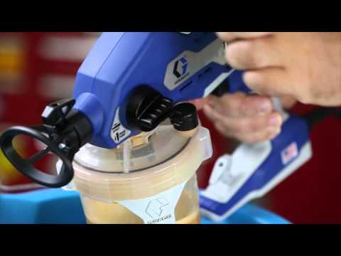 How to Clean Graco 360 Sprayer