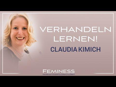 Verhandlungen führen für Frauen - so bekommst du was du willst! | Claudia Kimich