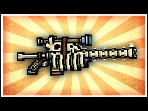 Pixel Gun 3D - Bone Sniper Rifle [Review]