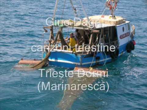 Gino Dagri - canzoni triestine - Trieste Dormi (Marinaresca)
