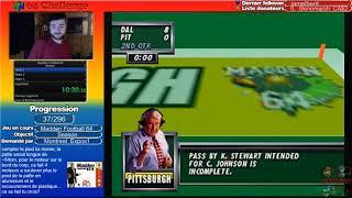 #37 N64 Challenge - Madden Football 64