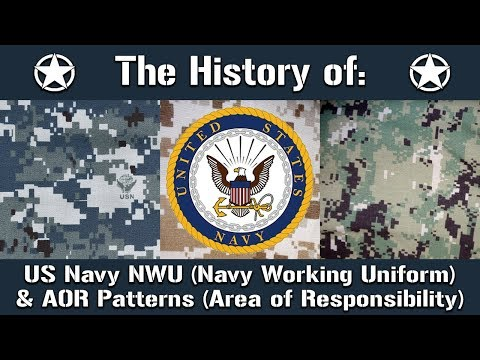 The History Of: The US Navy Navy Working Uniform (NWU) & AOR Camouflage Patterns | Uniform History