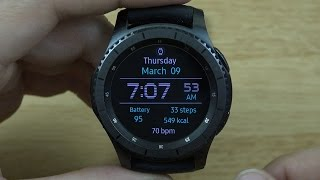 Samsung Gear S3 Frontier Review!