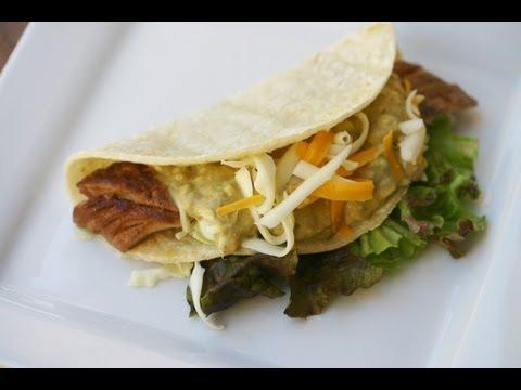 Baja Fish Tacos With Avocado Cream Sauce By Rockin Robin