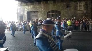 Before the parade and Govan Protestant Boys under the bridge @ Big Glasgow Walk 2011