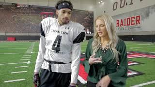Texas Tech Football: Outside the Huddle - Antoine Wesley   2018