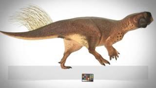 Así se camuflaba un pequeño dinosaurio 'loro' en el bosque