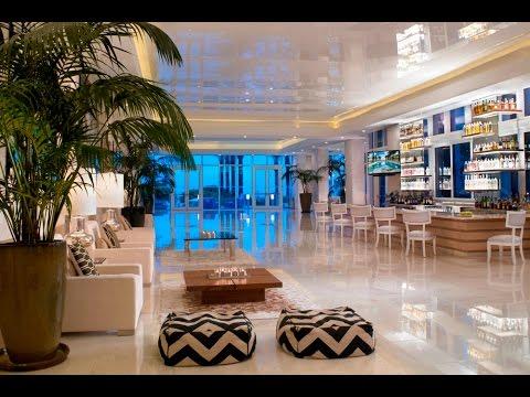 Grand Beach Hotel Surfside Florida (Lobby To Beach) Miami Beach 瑟夫賽德海灘大酒店 邁阿密海灘