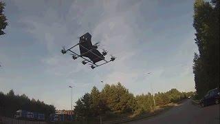 Manned multicopter / multirotor build Episode 7