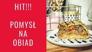 POMYSŁ NA OBIAD HIT!!! - TORT NALEŚNIKOWY Z MIĘSEM!