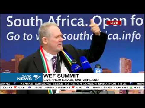 Day 1: Team SA addresses the WEF summit Part 2