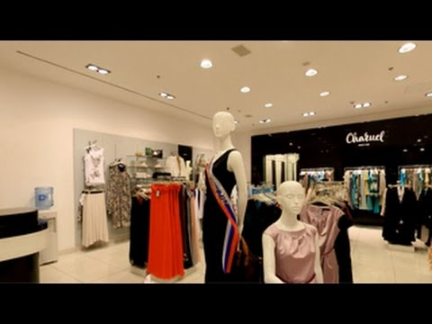 Charuel. Магазин женской одежды. Дизайн магазина одежды.