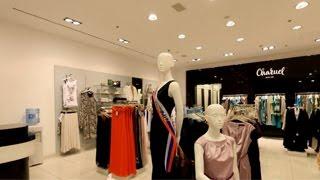 Charuel. Магазин женской одежды. Дизайн магазина одежды.(Позвольте себе магазин мирового уровня по цене российского рынка! Магазины