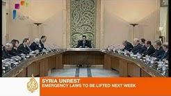 Syrian president pledges reforms
