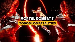 Mortal Kombat 11: TODOS los FATALITIES