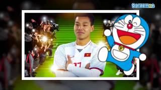 Nhạc Chế Cổ Vũ Bóng Đá U23 Việt Nam 🎼❤️  Phiên Bản Doremon  ♪♪ Kênh âm nhạc