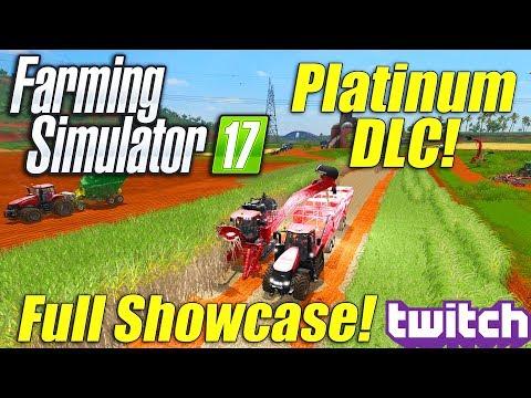 Farming Simulator 17: Platinum DLC Showcase!