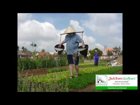 Farming & Fishing Life at organic veggie farm