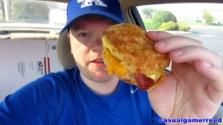 Reed Reviews Hardee's Fried Bologna Velveeta Biscuit