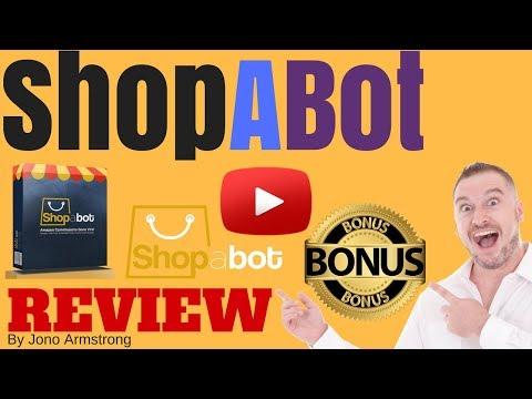 ShopABot Review ⚠️WARNING⚠️ DON'T BUY SHOPABOT WITHOUT MY 👷CUSTOM👷 BONUSES!!