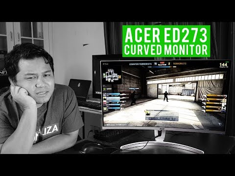 PERFECT GAMING MONITOR - ACER ED273 REVIEW (MALAY)