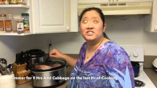 Cooking with Kimmie - S01E03 - Corned Beef Brisket