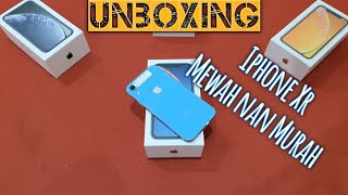 Gambar cover Unboxing Iphone XR! harga miring!!?
