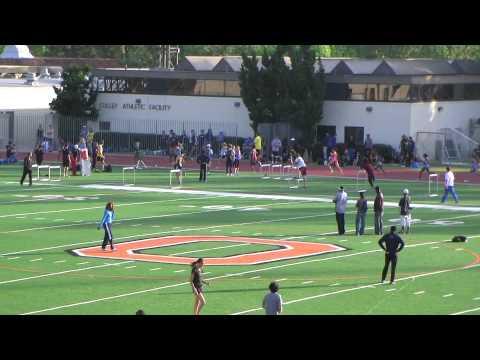 Women 800m Run, Section 1, Occidental Invitational, May 5, 2012