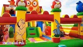 Bermain Istana Rumah Balon Mainan Anak banyak teman Kids Pool Fun Inflatable Bounce Giant Baloon