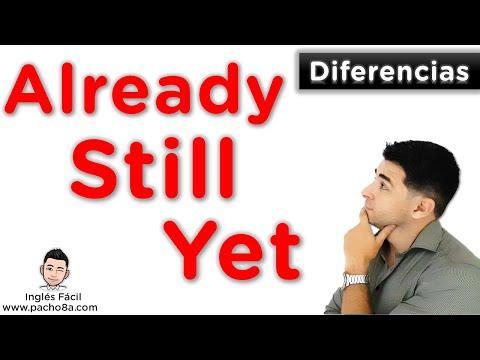Así de fácil es usar ALREADY, STILL y YET - Aprende sus diferencias