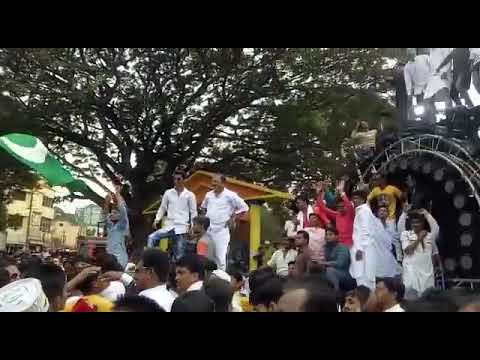 Sai dj ichalkaranji and surabhi sound compitisian. Dharavad Karnataka