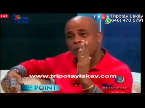 Michel Martelly Full Interview - Tele Metropole Part 2 (21 Jan 2016)