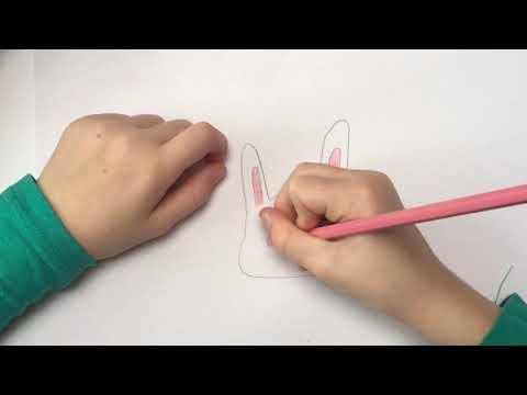 Tekenles van Demi: leer een konijntje tekenen