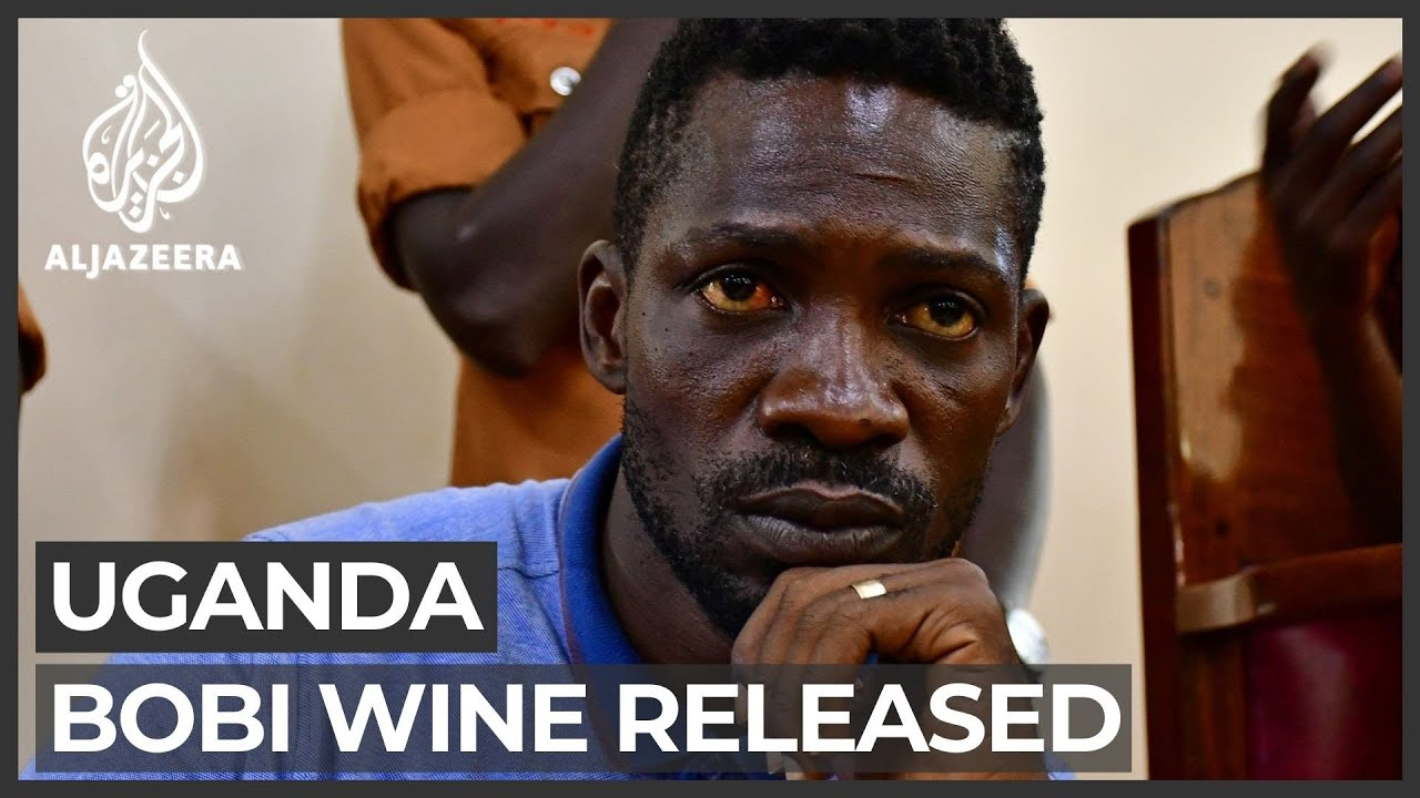 Uganda's Bobi Wine released, 37 dead in protests over his arrest