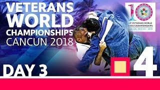 Veterans World Championships 2018: Day 3 - Day 3: Tatami 4