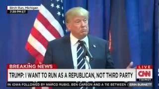 Trump Pledges To Fight Black Lives Matter