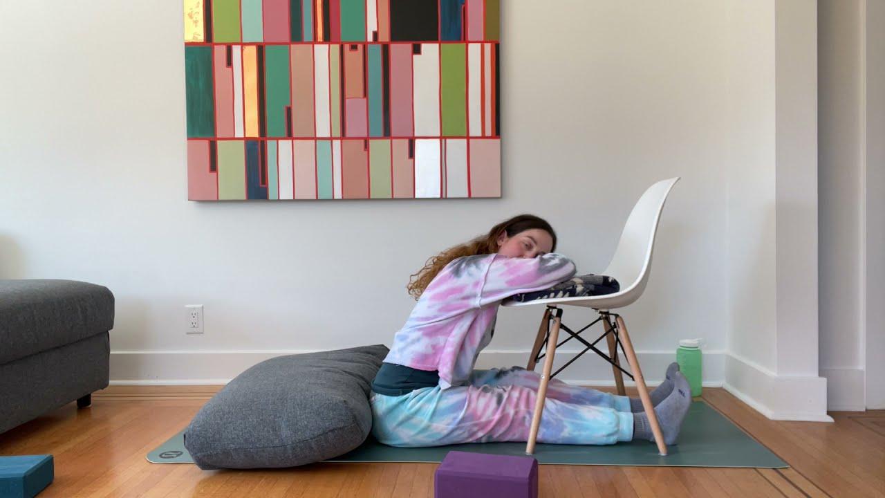 30 Minute Restorative Yoga Class