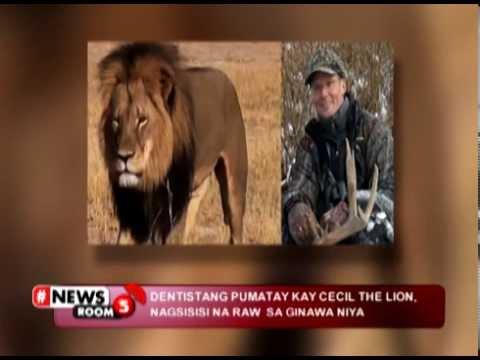 #NEWSROOM5 | TV HOST JIMMY KIMMEL, NAIYAK SA PAGPATAY KAY 'CECIL THE LION'