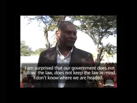 8 Villages unlawfully burnt out of their homes in Loliondo, Tanzania - Part 1