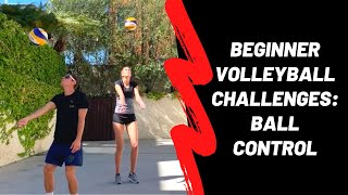 At-Home Volleyball: Beginner Ball Control Challenges