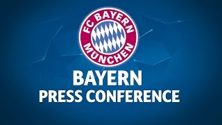 Bayern Press Conference